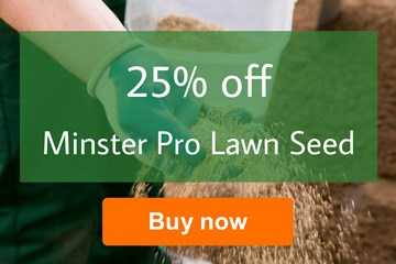 25% off Minster Pro Lawn Seed