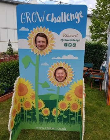 Rolawn Grow Challenge at BBC Gardeners' World Live