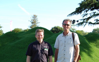 Jonathan Hill & Tony Smith at Hampton Court 2015