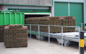 Turf entering Profresh system