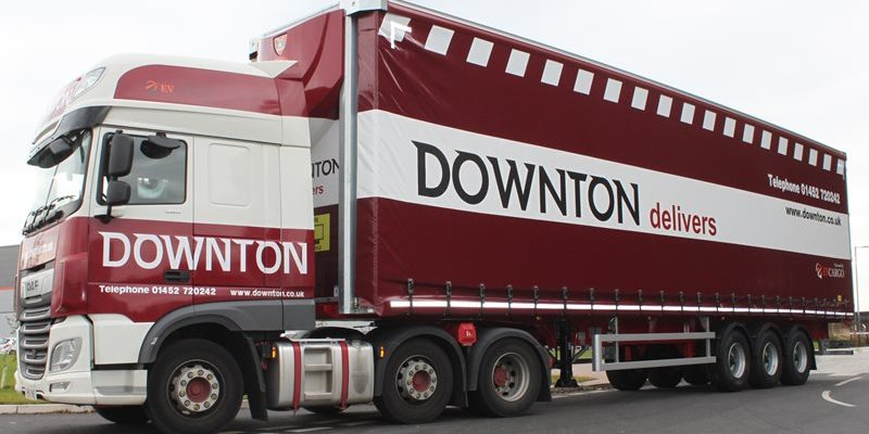 CM Downton lorries deliver Rolawn products