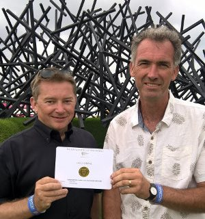 Rolawn celebrates RHS Gold at Hampton Court 2016