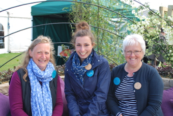 Riseholme & Bishop Burton Colleges Designers at Harrogate Flower Show