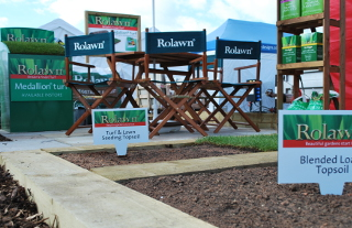 Rolawn stand Harrogate Flower Show 2015