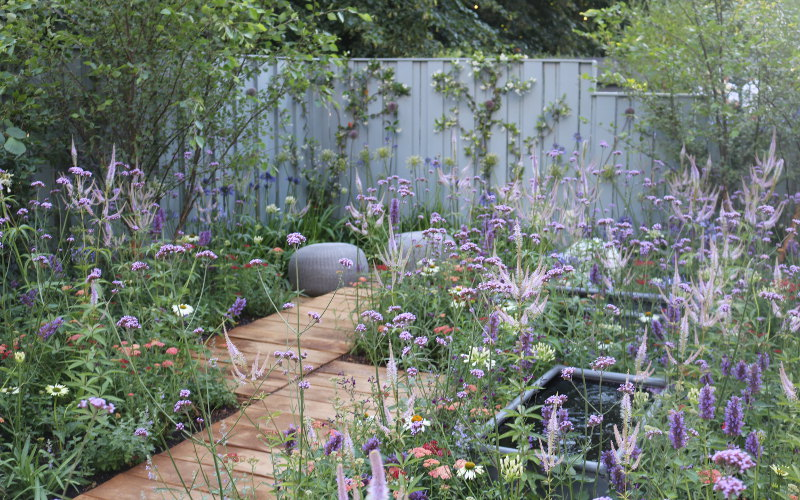 Southend Youth Offenders Garden 'A Place to Think' Hampton Court