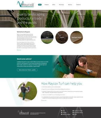 Raycox Turf launch new website