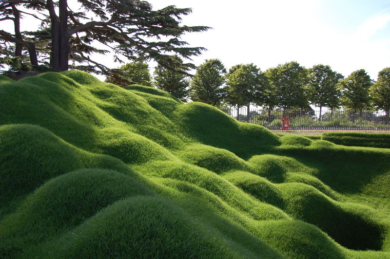 Rolawn Freestyle Turf Sculpture Hampton Court 2015