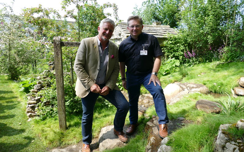 Mark Gregory & Jonathan Hill at RHS Chelsea 2018