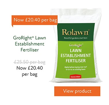 20%25 off GroRight Lawn Establishment Fertiliser