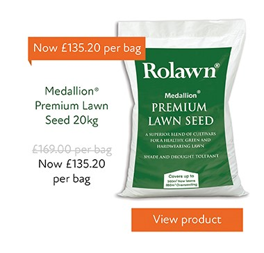 29%25 off Medallion Lawn Seed 20Kg bag