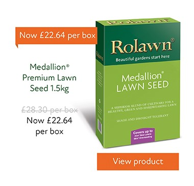 20%25 off Medallion Lawn Seed