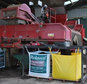 One millionth bag of Rolawn Blended Loam
