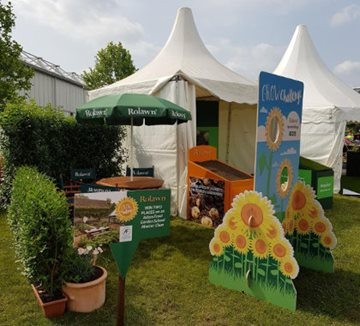 Rolawn stand at BBC Gardeners' World Live