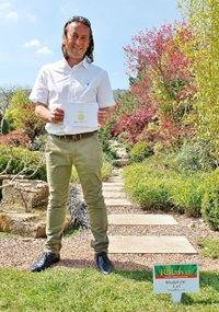 Peter Dowle grabs gold at RHS Malvern