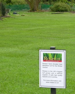Rolawn Medallion Turf >> Rolawn Turf arrives at Sir Harold Hillier Gardens