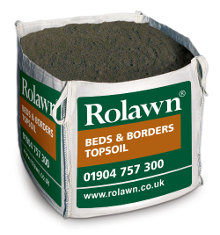 Image of Rolawn Beds & Borders Topsoil (1m³ Bulk Bag - 1,000 litres approx volume when packed)