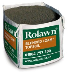 Image of Rolawn Blended Loam Topsoil (1m³ Bulk Bag - 1,000 litres approx volume when packed)