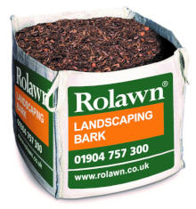 Image of Rolawn Landscaping Bark (1m³ Bulk Bag - 1,000 litres approx volume when packed)