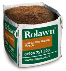 Image of Rolawn Turf & Lawn Seeding Topsoil (0.73m³ Bulk Bag - 730 litres approx volume when packed)